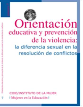 Orientación educativa y prevención de la violencia: la diferencia sexual en la resolución de conflictos