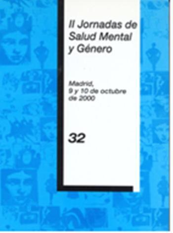 II Jornadas de salud Mental y género